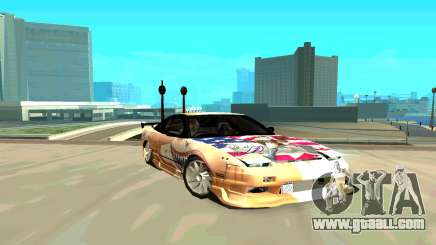 Nissan SX 180 for GTA San Andreas