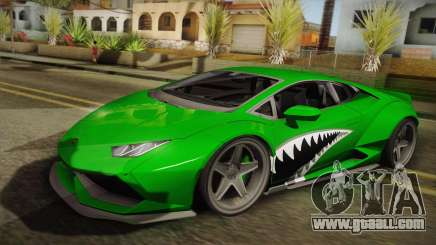 Lamborghini Huracan Liberty Walk for GTA San Andreas