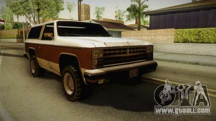 Chevrolet Blazer K5 Rancher Style for GTA San Andreas