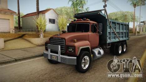 Mack RD690 Dumper 1992 v1.0 for GTA San Andreas