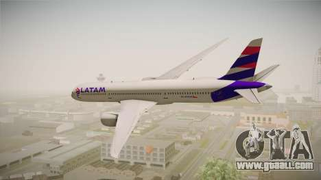 Boeing 787 LATAM for GTA San Andreas left view