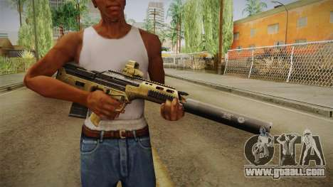 DesertTech Weapon 2 Silenced for GTA San Andreas third screenshot