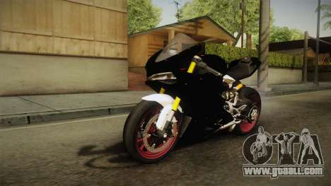 Ducati 1299 Panigale S 2016 Anniversary for GTA San Andreas