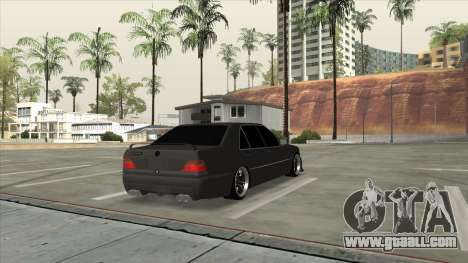 Brabus 7.3s for GTA San Andreas left view