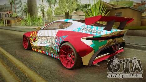 GTA 5 Dewbauchee Specter Custom for GTA San Andreas side view