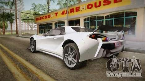 GTA 5 Progen Itali GTB Custom IVF for GTA San Andreas left view