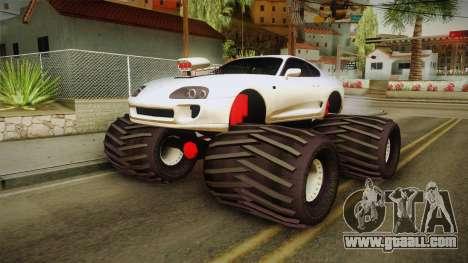 Toyota Supra Monster Truck for GTA San Andreas