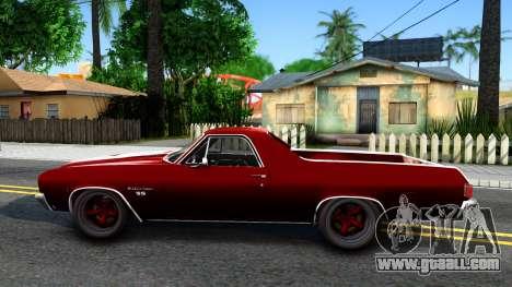 Chevrolet El Camino SS for GTA San Andreas left view