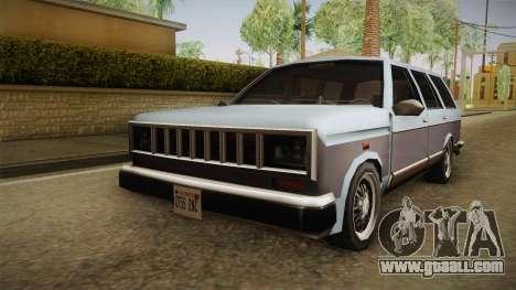 Bobcat Station Wagon for GTA San Andreas