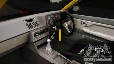 Toyota Corolla GT-S Drift for GTA San Andreas inner view
