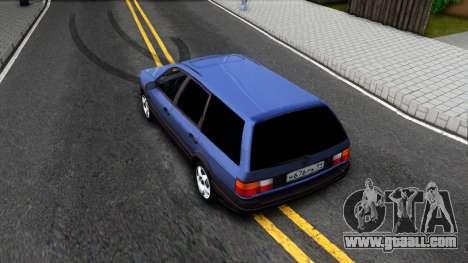 Volkswagen Passat B3 Wagon for GTA San Andreas back view