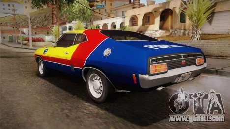 Ford Falcon 351 GT AU-spec (XB) 1973 HQLM for GTA San Andreas upper view