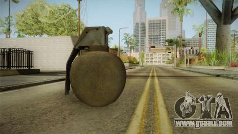 Battlefield 4 - M67 for GTA San Andreas second screenshot