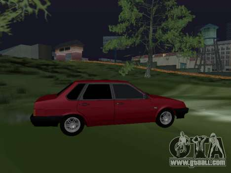 VAZ 21099 Armenian for GTA San Andreas left view