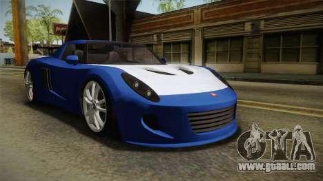 GTA 5 Voltic for GTA San Andreas right view