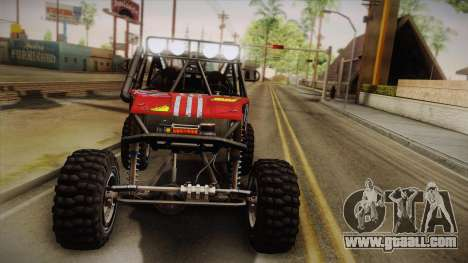 Dune Buggy Bill for GTA San Andreas upper view
