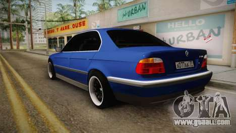 BMW 730d E38 for GTA San Andreas left view