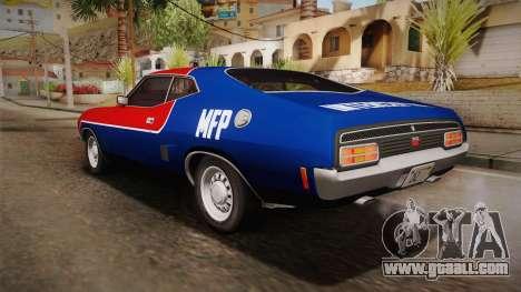 Ford Falcon 351 GT AU-spec (XB) 1973 HQLM for GTA San Andreas wheels