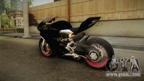 Ducati 1299 Panigale S 2016 Anniversary for GTA San Andreas right view