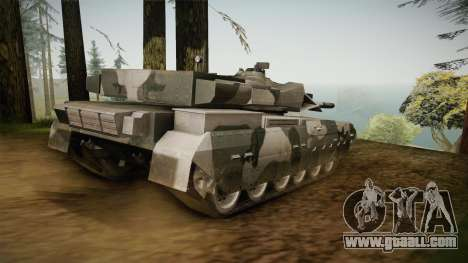 T-84-120 Yatagan for GTA San Andreas left view