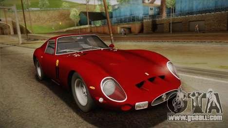 Ferrari 250 GTO (Series I) 1962 HQLM PJ1 for GTA San Andreas