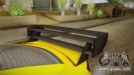 GTA 5 Annis Elegy RH8 Custom for GTA San Andreas inner view
