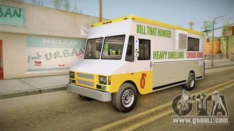 GTA 5 Brute Taco Van for GTA San Andreas right view