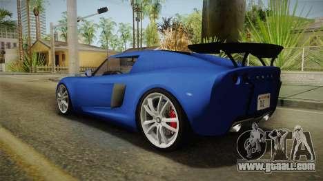 GTA 5 Voltic for GTA San Andreas left view