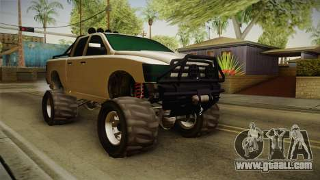 GTA 5 Bison 4x4 for GTA San Andreas right view