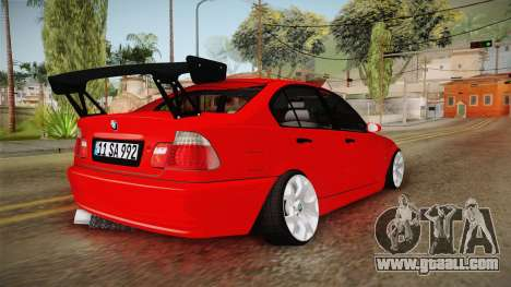 BMW 3 Series E46 CamberKinG for GTA San Andreas left view