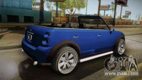 GTA 5 Weeny Issi Countryboy Cabriolet for GTA San Andreas left view