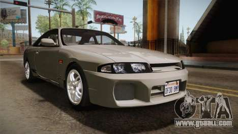 Nissan Skyline GTS25-t Mk.IX R33 Paintjob for GTA San Andreas