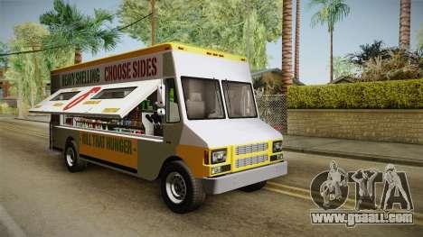 GTA 5 Brute Taco Van for GTA San Andreas