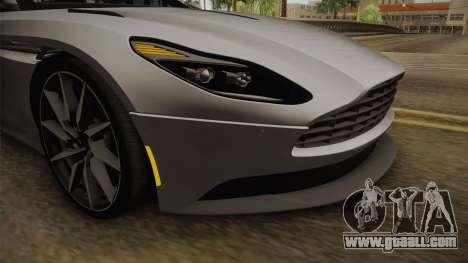 Aston Martin DB11 2017 for GTA San Andreas upper view