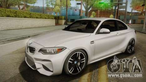 BMW M2 2017 for GTA San Andreas