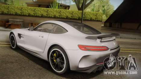 Mercedes-Benz AMG GT R 2017 for GTA San Andreas left view