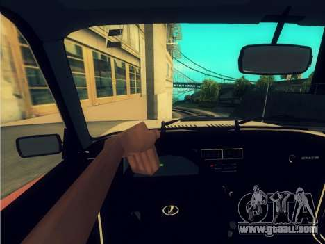 2107 for GTA San Andreas inner view