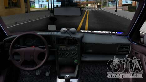 Volkswagen Passat B3 Wagon for GTA San Andreas inner view