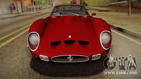 Ferrari 250 GTO (Series I) 1962 HQLM PJ1 for GTA San Andreas right view