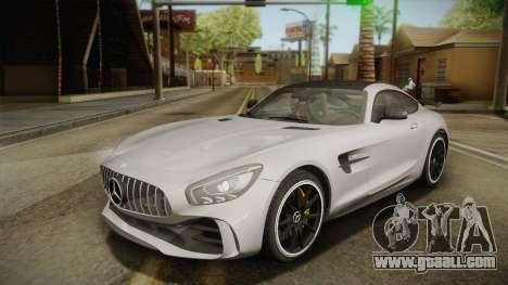 Mercedes-Benz AMG GT R 2017 for GTA San Andreas