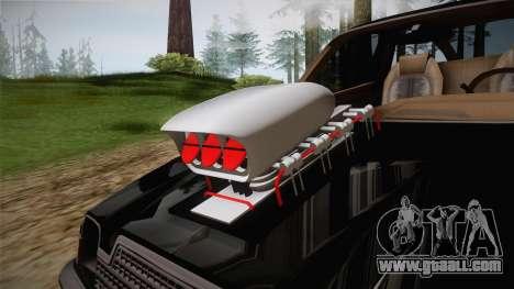AMC Pacer Monster Truck for GTA San Andreas inner view