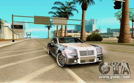 Rolls-Royce Ghost for GTA San Andreas