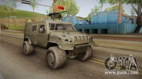 Iveco Lince LMV for GTA San Andreas