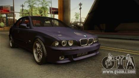 BMW M5 E39 Stock 2001 for GTA San Andreas right view