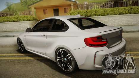 BMW M2 2017 for GTA San Andreas left view