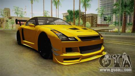 GTA 5 Annis Elegy RH8 Custom for GTA San Andreas right view