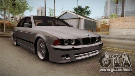 BMW 530i E39 for GTA San Andreas