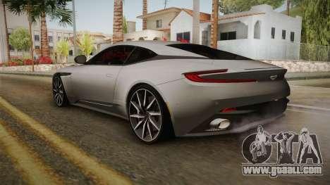 Aston Martin DB11 2017 for GTA San Andreas left view