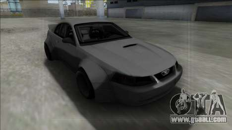 1999 Ford Mustang Rocket Bunny for GTA San Andreas back left view
