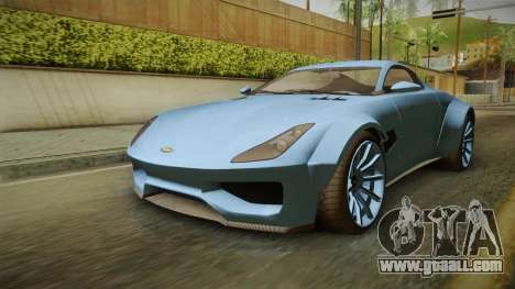 GTA 5 Dewbauchee Specter Custom for GTA San Andreas right view